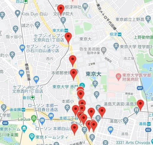 ゴッチ参加店舗マップ